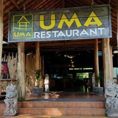 Photo taken at Uma Restaurant by Ali R. on 6/23/2014