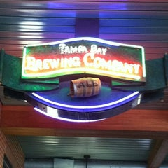 Photo taken at Tampa Bay Brewing Company by Becky R. on 2/25/2013