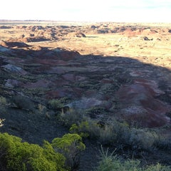 Photo taken at Painted Desert by Jonathan T. on 9/8/2014