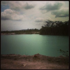 Photo taken at Tambang Kaolin, Belitung by mega p. on 1/14/2013