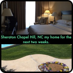 Photo taken at Sheraton Chapel Hill Hotel by Emmy C. on 4/27/2014
