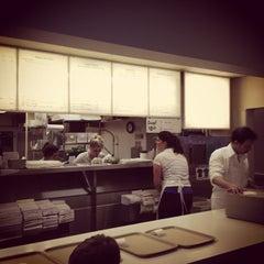 Photo taken at Bodo's Bagels by LJ H. on 12/16/2012