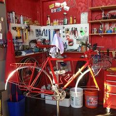 Photo taken at Rickshaw Bagworks by Rob G. on 1/19/2013