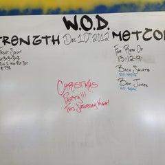 Photo taken at RC CrossFit by Jen F. on 12/10/2012