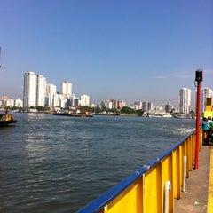 Photo taken at Balsa Guarujá / Santos by Leandro M. on 2/25/2013
