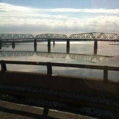 Photo taken at Missouri / Illinois State Line by Wendy H. on 2/4/2013