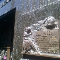 Photo taken at Eva Peron's Grave by Eduardo M. on 12/1/2012