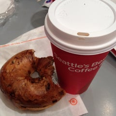 Photo taken at Seattle's Best Coffee - SeaTac Airport Main Terminal by Shin D. on 10/12/2013
