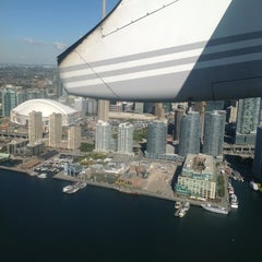 Photo taken at Billy Bishop Toronto City Airport Ferry by Adriana P. on 10/5/2012