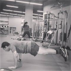 Photo taken at Fitness First Platinum by Yusuf H. on 1/16/2016