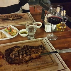 Photo taken at The Butcher Shop & Etçii Steakhouse by Bulent Y. on 4/11/2015