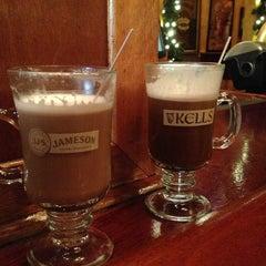 Photo taken at Kells Irish Restaurant & Pub by Kate G. on 12/31/2012