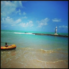 Photo taken at Praia Mirante da Sereia by Edilson C. on 1/5/2013