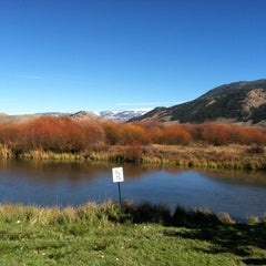 Photo taken at Jackson Visitor Center by Elaine R. on 10/18/2013