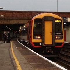 Photo taken at Southampton Central Railway Station (SOU) by Jim K. on 6/17/2013