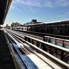 Photo taken at MTA Subway - 30th Ave (N/Q) by Jared S. on 2/10/2013