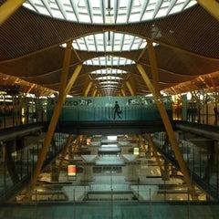 Photo taken at Aeropuerto Adolfo Suárez Madrid-Barajas (MAD) by @StratosAthens on 7/1/2013
