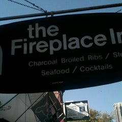 Photo taken at The Fireplace Inn by Eric S. on 9/29/2012