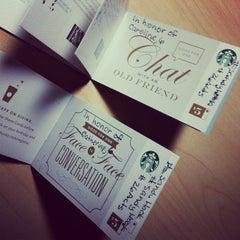Photo taken at Starbucks by Kristin B. on 12/21/2012