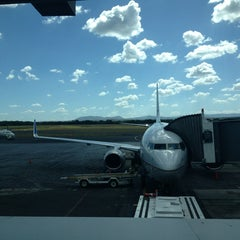 Photo taken at Aeropuerto Internacional Augusto C. Sandino by Jersey C. on 3/4/2013