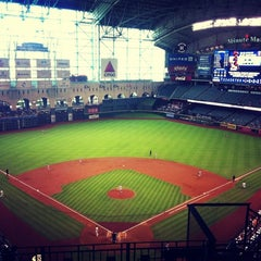 Photo taken at Minute Maid Park by Marina M. on 5/28/2013