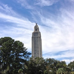 Photo taken at Louisiana State Capitol by Morgan F. on 10/21/2012