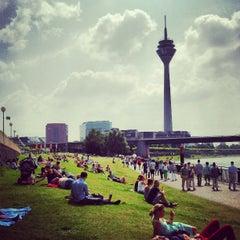 Photo taken at Rheinufer by Antonis G. on 7/6/2013