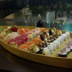 Photo taken at Wasabi Bistro And Sushi Bar by LoG S. on 2/15/2014