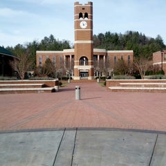 Photo taken at Western Carolina University by Nathan W. on 12/23/2012