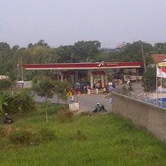 Photo taken at Pom Bensin Pekapuran by Andri N. on 10/1/2012