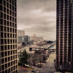 Photo taken at Hilton Seattle by Kieran H. on 2/24/2013