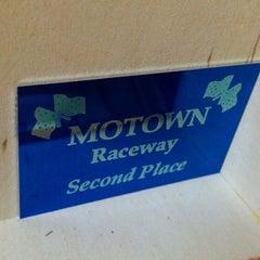 Photo taken at Motown Raceway by Jerad H. on 1/18/2014