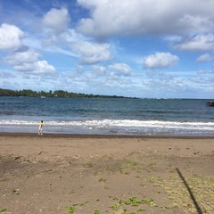 Photo taken at Hana Beach Park by Chloe D. on 12/15/2014