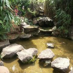 Photo taken at Jardim Oriental by Elisabel M. on 11/4/2012