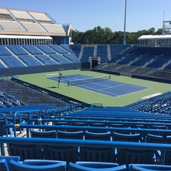 Photo taken at Connecticut Tennis Center by Kat P. on 8/9/2014