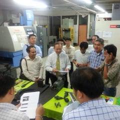 Photo taken at วิทยาลัยเทคโนโลยีอุตสาหกรรม (College Of Industrial Technology) by Nook N. on 11/10/2014