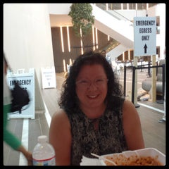 Photo taken at Westfield Montgomery Mall Food Court by Michelle Erica G. on 8/22/2014