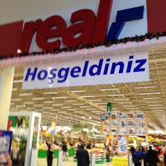 Photo taken at Real by Burç on 12/11/2012