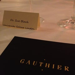 Photo taken at Gauthier Soho by Sue B. on 5/23/2013