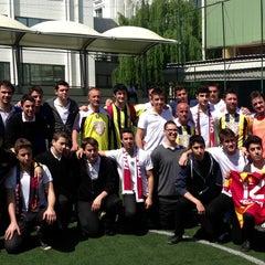 Photo taken at FMV Ayazağa Işık Lisesi by Levent umit E. on 5/15/2013