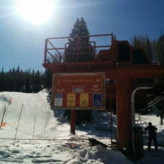 Photo taken at Dreamscape Lift by Fred W. on 3/21/2014