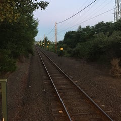 Photo taken at LIRR - Amagansett Station by Fred W. on 8/10/2015