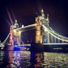 Photo taken at Tower Bridge by Hande C. on 5/5/2013