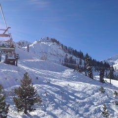Photo taken at Squaw Valley Ski Resort by Michael C. on 1/1/2013