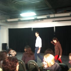Photo taken at Half Moon Theatre - Rehearsal Hall by Frank T. on 11/17/2012