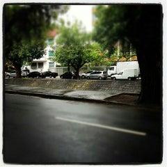 Photo taken at Avenida Visconde de Albuquerque by Bell  Celiana on 11/7/2013