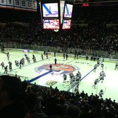 Photo taken at Nassau Veterans Memorial Coliseum by Eddie R. on 1/20/2013
