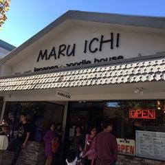 Photo taken at Maru Ichi Japanese Noodle House by Jason H. on 11/9/2014