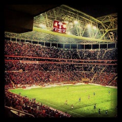 Photo taken at Türk Telekom Arena by Mehmet M. on 2/10/2013