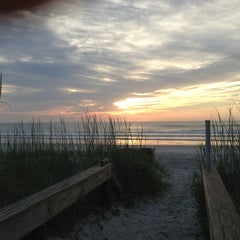 Photo taken at Jax Beach At South 15th Ave by Michael D. on 6/8/2013